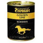 Консервы Мясные Golden Line Д/Собак Конина 340гр. фото