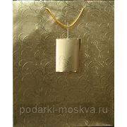 Пакет бумажный крафт 33*40см 0582/NR-G фото