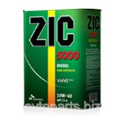 Моорное масло ZiC 5000 CI-4 10W40 4л фото