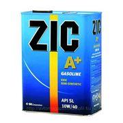 Полусинтетическое моторное масло ZIC A+ Gasoline 10W-40 4 л фото