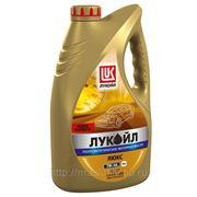 Полусинтетическое моторное масло Лукойл Люкс 5W-40 4 л фото