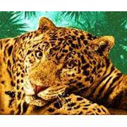 Панно гобеленовое Гепард фото
