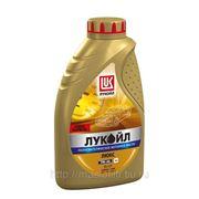Полусинтетическое моторное масло Лукойл Люкс 5W-40 1 л фото