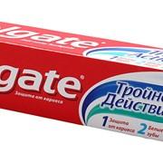 Зубная паста Colgate Тройное действие 100мл (48шт/кор) фото
