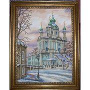 Картина Андреевская церковь фото