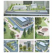 Архитектурный макет больницы фото