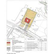 Схема планировочной организации земельного участка для индивидуального жилого дома