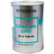 Трансм. масло TOYOTA Gear Oil 75W90 GL-5 1л фото