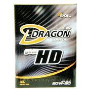 Трансмиссионное масло DRAGON HD 80W90 GL-5 4л фото