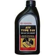 Трансмиссионное масло TOYOTA ATF TYPE T-IV 946мл фото