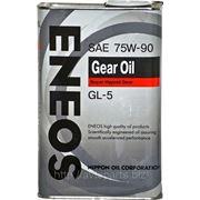 Трансмиссионное масло ENEOS 75W90 GEAR OIL 940мл фото