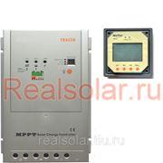 Контроллер заряда EPSolar Tracer MPPT 4210RN 45A Input 100V +LCD remote meter фото
