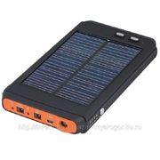 Солнечное зарядное устройство 16000 mA. для ноутбука, мобильного, игр. приставки, фотоаппарата, МП3 фото