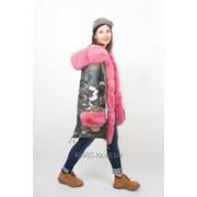 Зимняя куртка-парка на натуральном меху фото