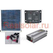 Солнечная электростанция для дачи 600 Вт Союз EX-60Вт 12В фото