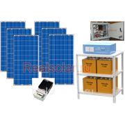 Солнечная электростанция для дома 1380Вт 4.5кВт МАП SIN 48В 225 А*ч фото