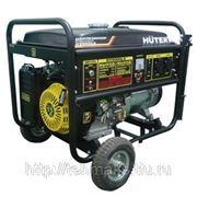 Бензогенератор Huter Huter DY6500LX (с колесами и аккумулятором) фото