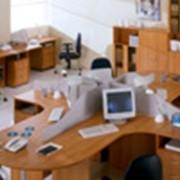 Уборка офисов, торговых залов фото