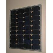 Модуль солнечный монокристаллический, каркасный 40Вт. МКC-40(12) фото