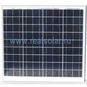 Солнечная батарея 50 Вт ватт RS-50P12-EX фото