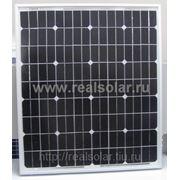 Солнечная батарея 50 Вт ватт RS-50M12-EX монокристаллическая фото