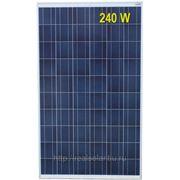 Солнечная батарея 240 Вт ватт RS-240P24-SV поликристаллическая фото