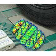 TireScan™ - измерение удельного давления и изучение его распределения в пятне контакта шины фото