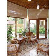 Бамбуковые шторы фото