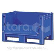 Пластиковый контейнер (Box Pallet) (с верхней дверцей)