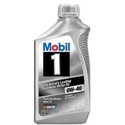 Моторное масло Mobil 1 Synthetic 0W40 946мл фото