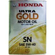 Моторное масло HONDA 5W40 ULTRA GOLD SN 4л фото