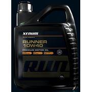 Полусинтетическое моторное масло XENUM Runner 10w40 , 5 л фото