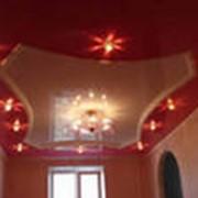 Потолок натяжной фото