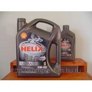 Shell Helix Ultra 5W-40 фото