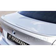 Спойлер(накладка) на багажник BMW E90 узкий HAMANN фото