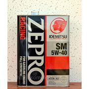 Idemitsu zepro racing sm 5W-40 фото