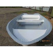 Лодка гребная - моторная из стеклопластика фото