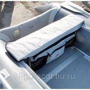 Сумка под сиденье серая фото