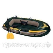 Лодка Sea Hawk 2s, 2-мест.(+насос,пласт.весла) 236x114x41cм (200 кг)