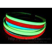 EL ленты, электролюминесцентные ленты, световые ленты, неоновые ленты фотография