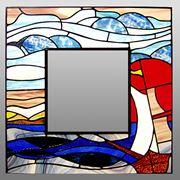 Декоративная витражная рамка фото