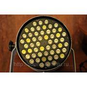 Светодиодный LED прожектор PAR-64 RGBW 54шт 3Вт фото