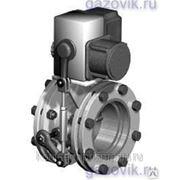 Заслонка Ду 65 газовая с электроприводом ЗГП-65 фото
