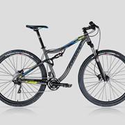 Велосипед горный двухподвесный Forward 4912 фото