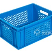 Ящик для прессованных дрожжей, грибов голубой фото