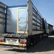 Доставка блок-контейнеров спецтехникой