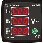 Модуль измерения напряжения и частоты тока фото