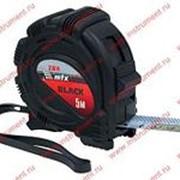 Рулетка MATRIX Black 7,5м*25мм. обрез.корп. 31015 фото