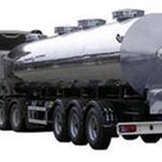 Автоцистерны для пищевых жидкостей с термоизоляцией (молоковозы, водовозы) фото