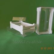 Рамка мини для секционного сотового меда с контейнером фото